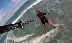 gopro kitesurf sessie