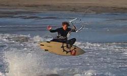 strapless kitesurf video