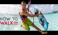 Hoe maak je een jesus walk kite surfing