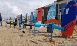 Kite surf Foil test